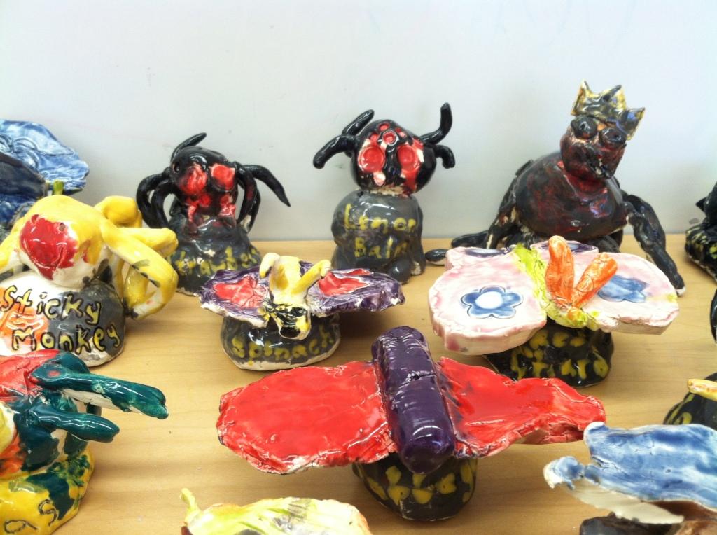 102 Ceramic Creatures