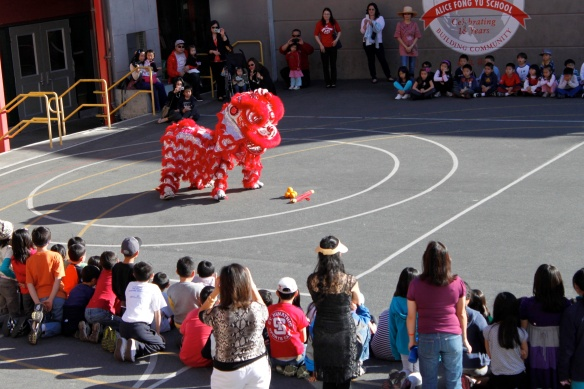 Lion Dancing 2013