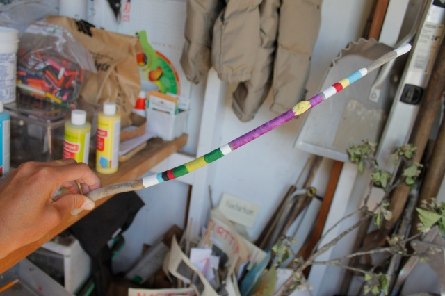 Ms. Fung's Earth Day Wand