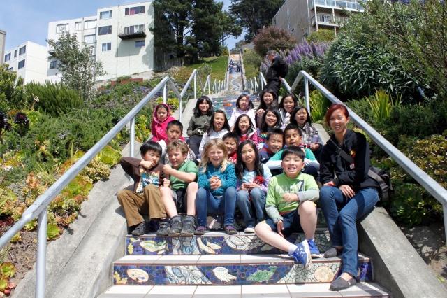 Ms. Zhao's Class 2012 Moraga Hill
