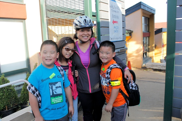 Families Bike to School Today