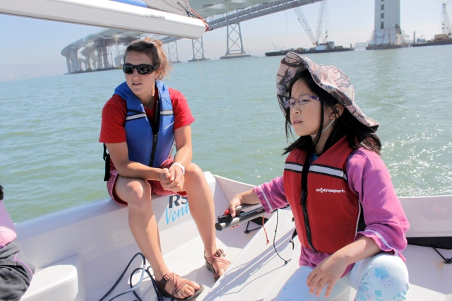 Steering the Sail Boat