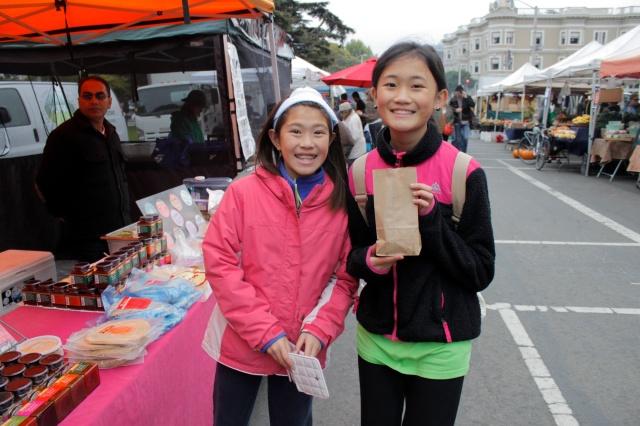 Samosas at the Market