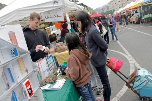 SF Environment Booth at the Market