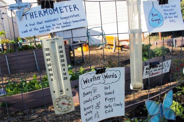 School Garden Weather Station