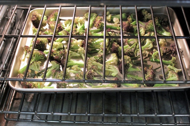 Roasting Cauliflower