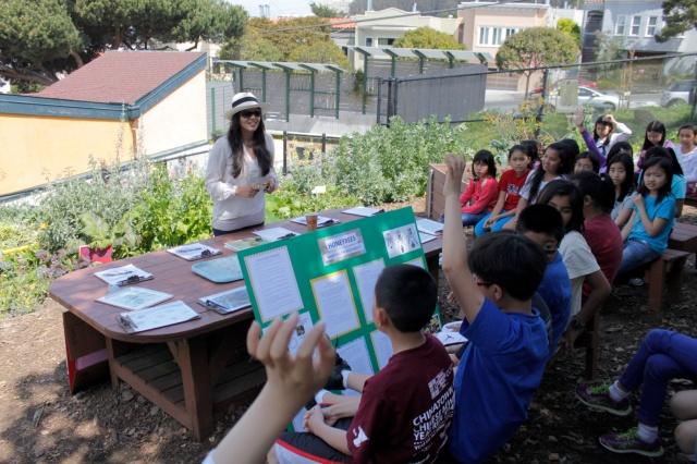 5th Grade Honey Bee Talk (Photo by Patty Fung)