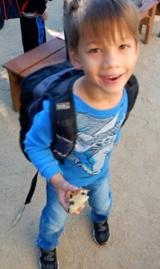 2014 10 08 Walk to School - Garden 1