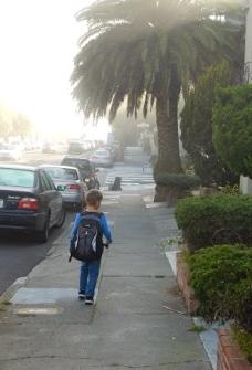 2014 10 08 Walk to School - Walking 1